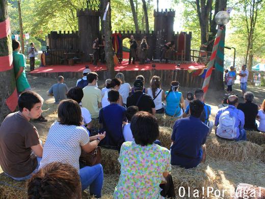 ポルトガルのお祭り:サンタ・マリア・ダ・フェイラの中世祭り