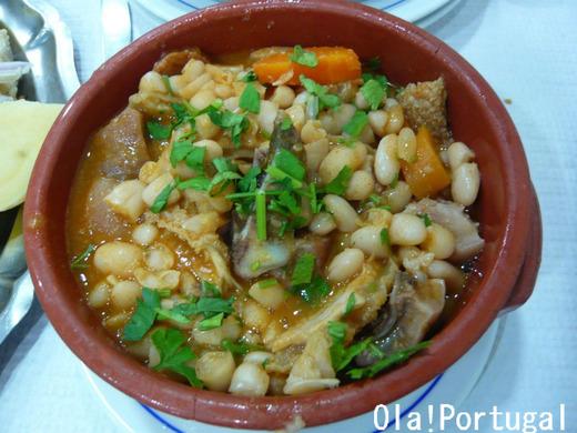 ポルトガル料理:Tripas a moda do Porto トリパス
