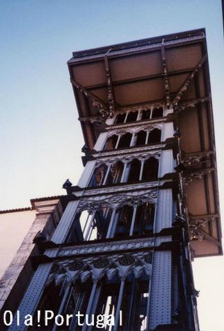 ポルトガル旅行記:サンタ・ジュスタのエレベーター(リスボン)