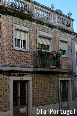 ポルトガルの建物を彩るアズレージョ(パルメラ)