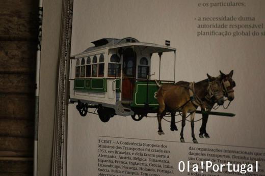 リスボンの馬車鉄道(カリス社)