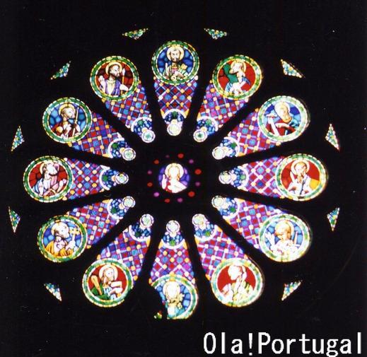 Lisboa Se リスボンのカテドラルのバラ窓