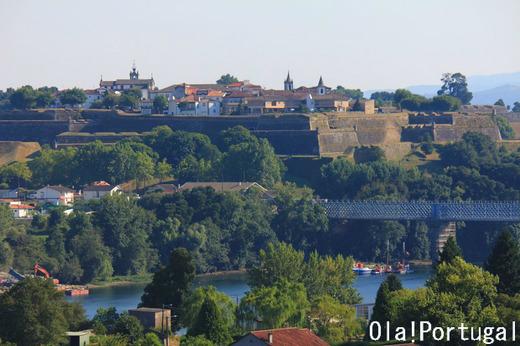 ポルトガル古城・城跡巡り:ヴァレンサ・ド・ミーニョ
