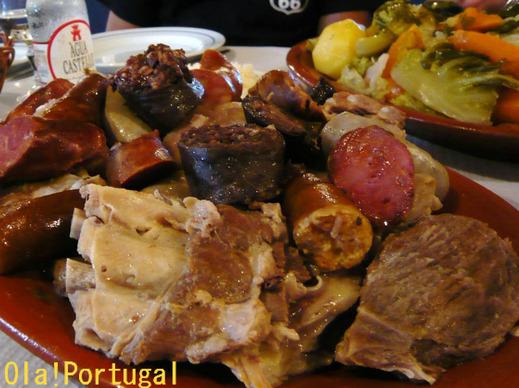 ポルトガル料理:コジード・ア・ポルトゲーザ