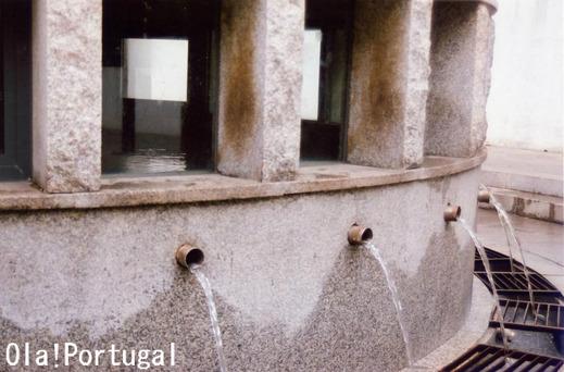 ポルトガルの名水・ルーゾの源泉