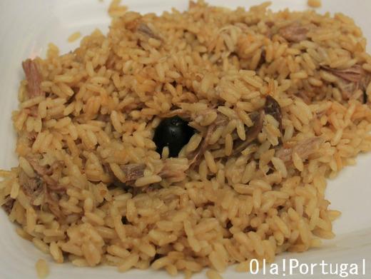 ポルトガル料理:Arroz de Pato アローシュ・デ・パト