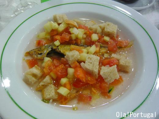 ポルトガル料理:Gaspacho ガスパチョ(冷製スープ)