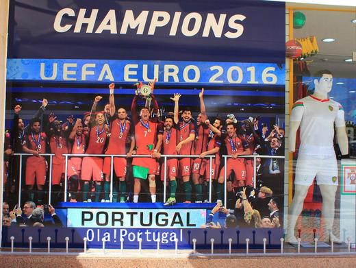 UEFA EURO 2016 ポルトガル初制覇