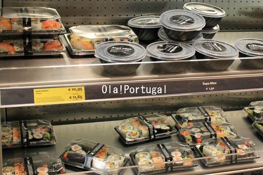 ポルトガルで見つけた日本食:スシ、ソッパ・ミソ