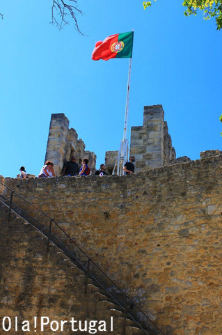 Castelo de Sao Jorge, Kisboa, Portugal