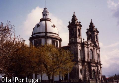 ポルトガルの聖地:ブラガ(サメイロ教会)