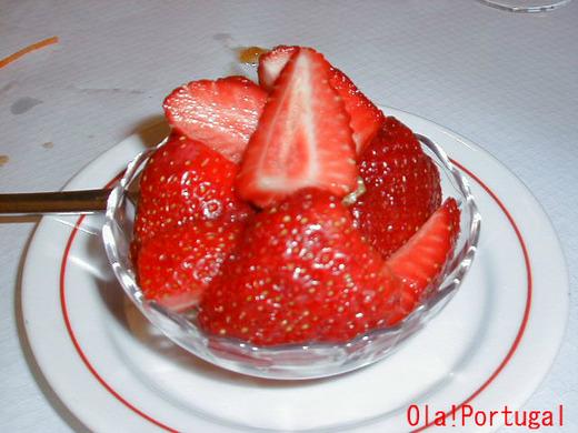 ポルトガルの果物:Morango モランゴ(いちご)