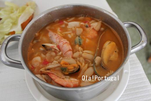 ポルトガル料理:Feijoada de marisco フェイジョアーダ