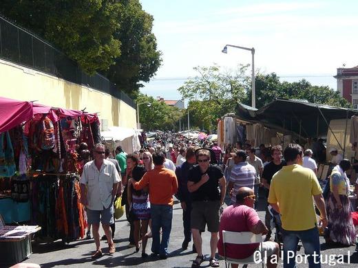 リスボン観光:Feira da Ladra (リスボンのノミの市)