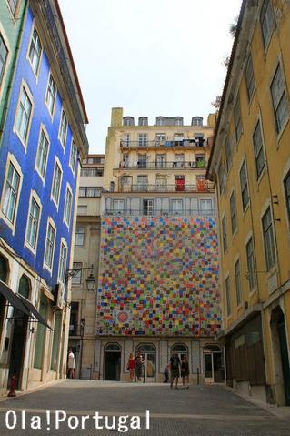 リスボン旅行記:サン・ジョルジェ城への無料エレベータ