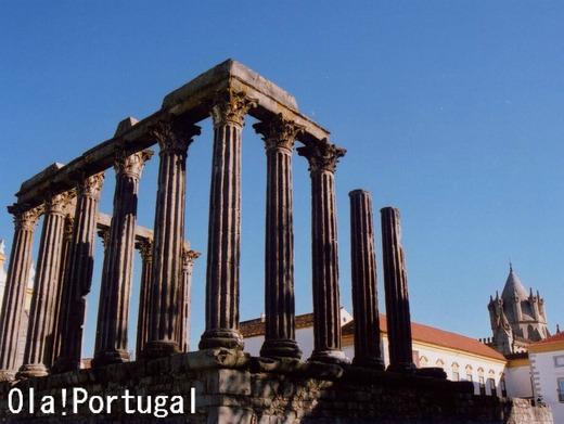 ポルトガル旅行記:Evora エヴォラ