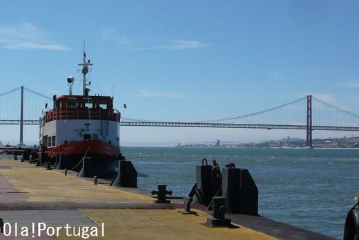 Transtejo リスボン:テージョ川を渡るフェリー