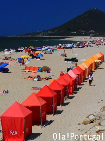 ポルトガル北部ミーニョ地方のビーチリゾート:カミーニャ