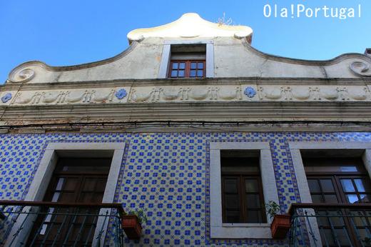 ポルトガルの建築:アズレージョで覆われた建物