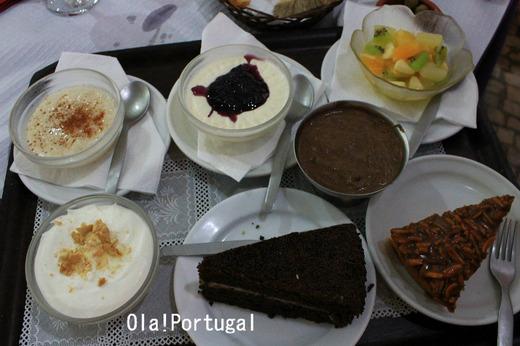 ポルトガル料理:デザート