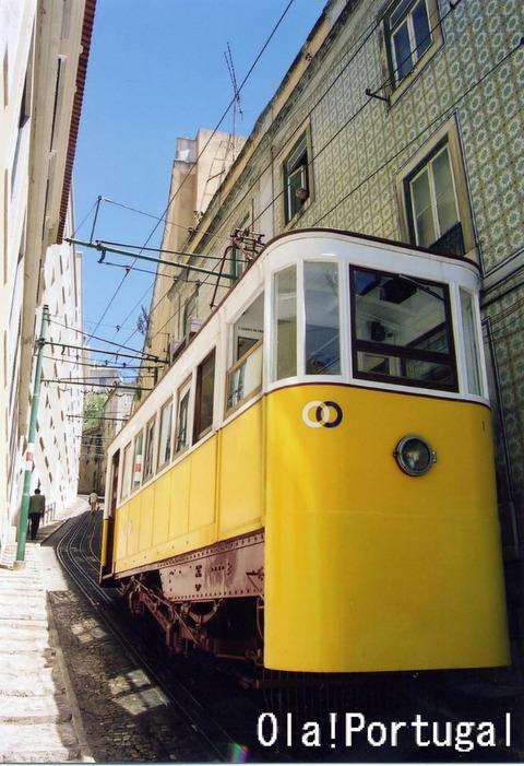 リスボン・ケーブルカー・ラヴラ線