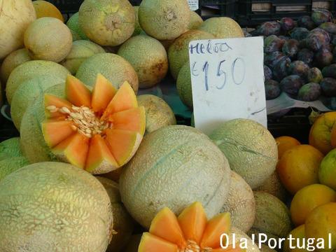 ポルトガルの果物:Meloa メロア(メロン)