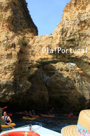 ポルトガル・ラゴスのアクティビティ:洞穴ツアー