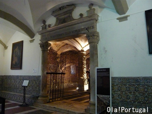 Capela dos Ossos (Evora) カペラ・ドス・オソス(エヴォラ人骨堂)