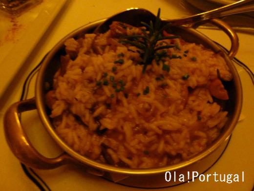 ポルトガルの米料理:リゾット
