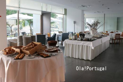ポルトガル旅行記:アライオロスのポザーダの朝食