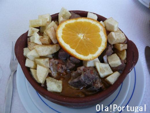 ポルトガル料理:Ensopado de Borrego エンソパード・デ・ボレゴ