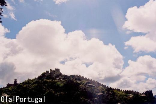 ポルトガル古城巡り:ムーアの城跡(シントラ)