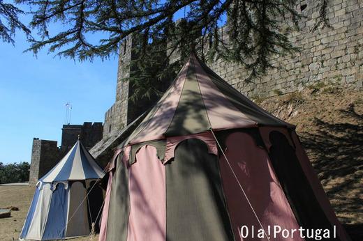 ポルトガル古城巡り:サンタ・マリア・ダ・フェイラ城