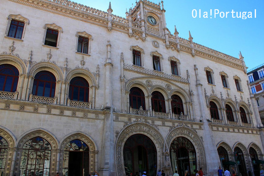 ポルトガル情報&旅行記:Ola! Portugal リスボン・ロシオ駅