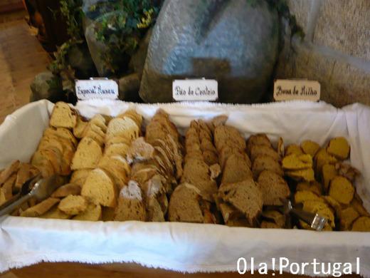 パン博物館のレストランのパン