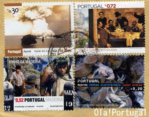 ポルトガルの切手(マデイラ、アソーレス)