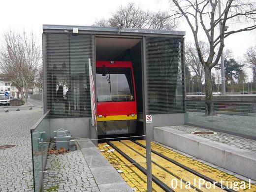 Funicular de Viseu ヴィゼウのケーブルカー