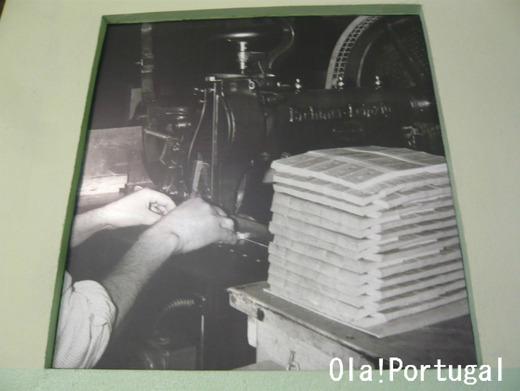 Carris 社の印刷所