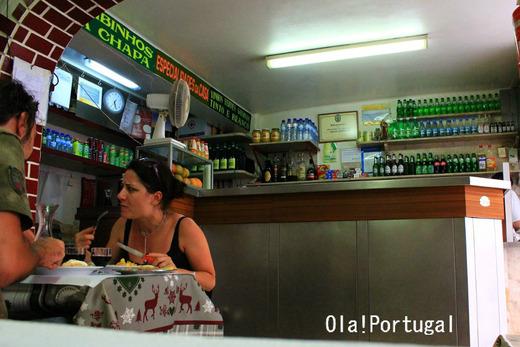 ポルトガル旅行記:リスボンの大衆食堂
