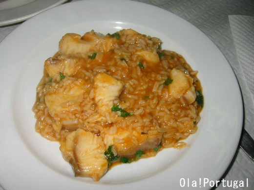 ポルトガル料理:Arroz de Bacalhau アローシュ・デ・バカリャウ