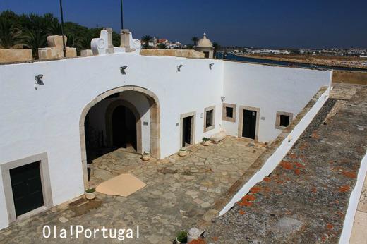 ポルトガル(ラゴス)の星型要塞のパンデイラ岬要塞