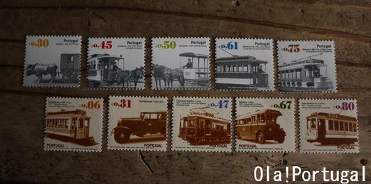 ポルトガルの切手:路面電車シリーズ