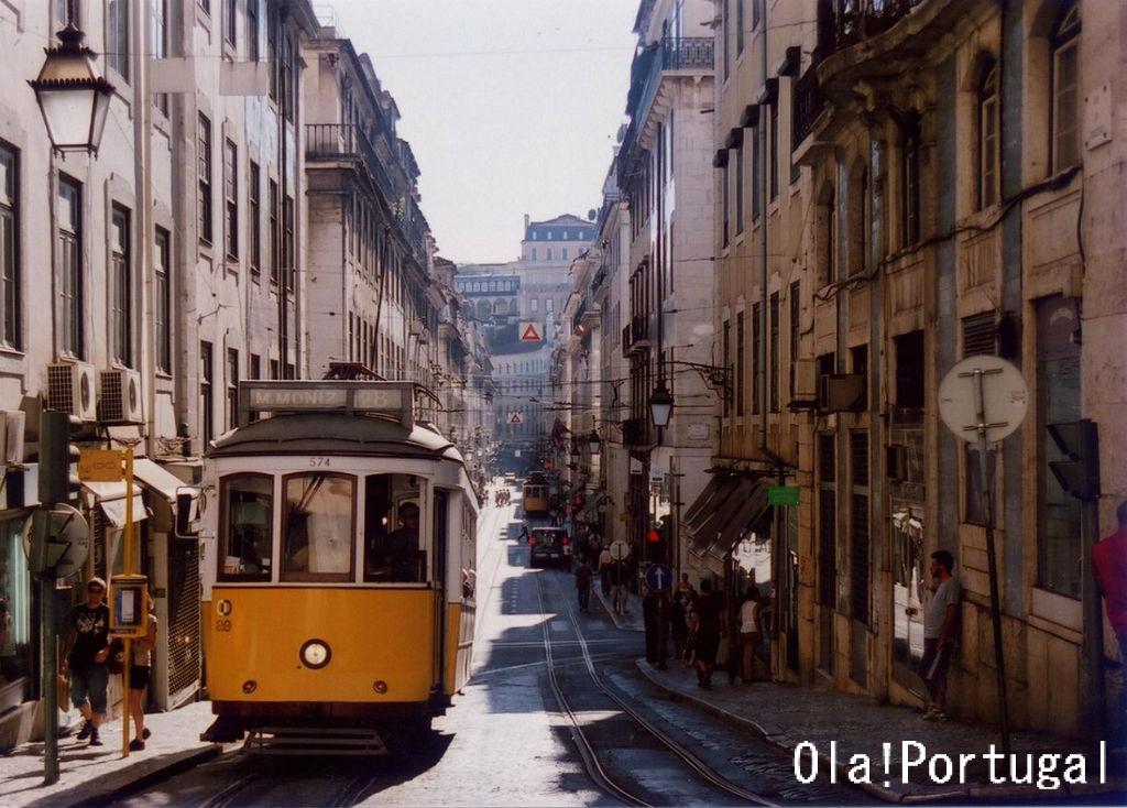 リスボン市電28番線に乗ってみた : Ola! Portugal 与茂駄(よもだ)とれしゅ ~オラ!ポルトガルのブログ~