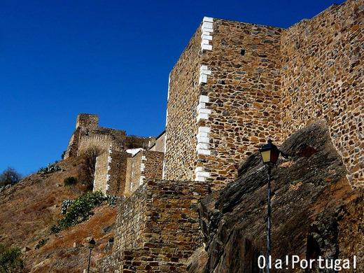 Castelo de Mertola, Portugal