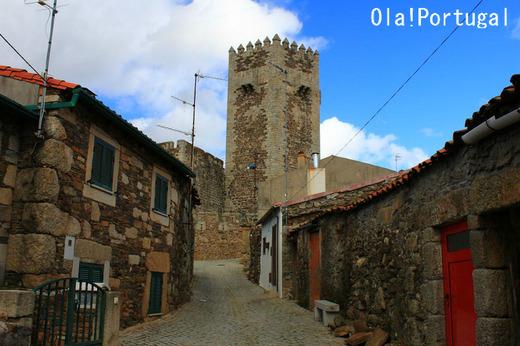 ポルトガル古城巡りの旅:カステロ・デ・サブガル(サブガル城)