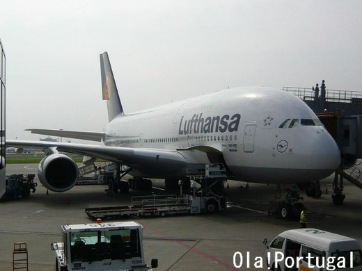 ルフトハンザドイツ航空で行くポルトガル