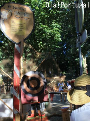 ポルトガルのお祭り:射的