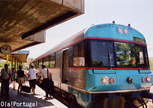ポルトガル鉄道CP:Coimbra Parque コインブラ・パルケ駅