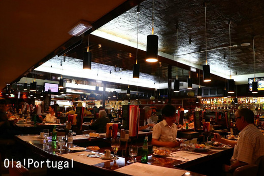 リスボンの老舗レストラン