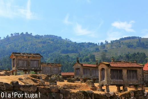 ポルトガルの秘境:リンドーゾ村